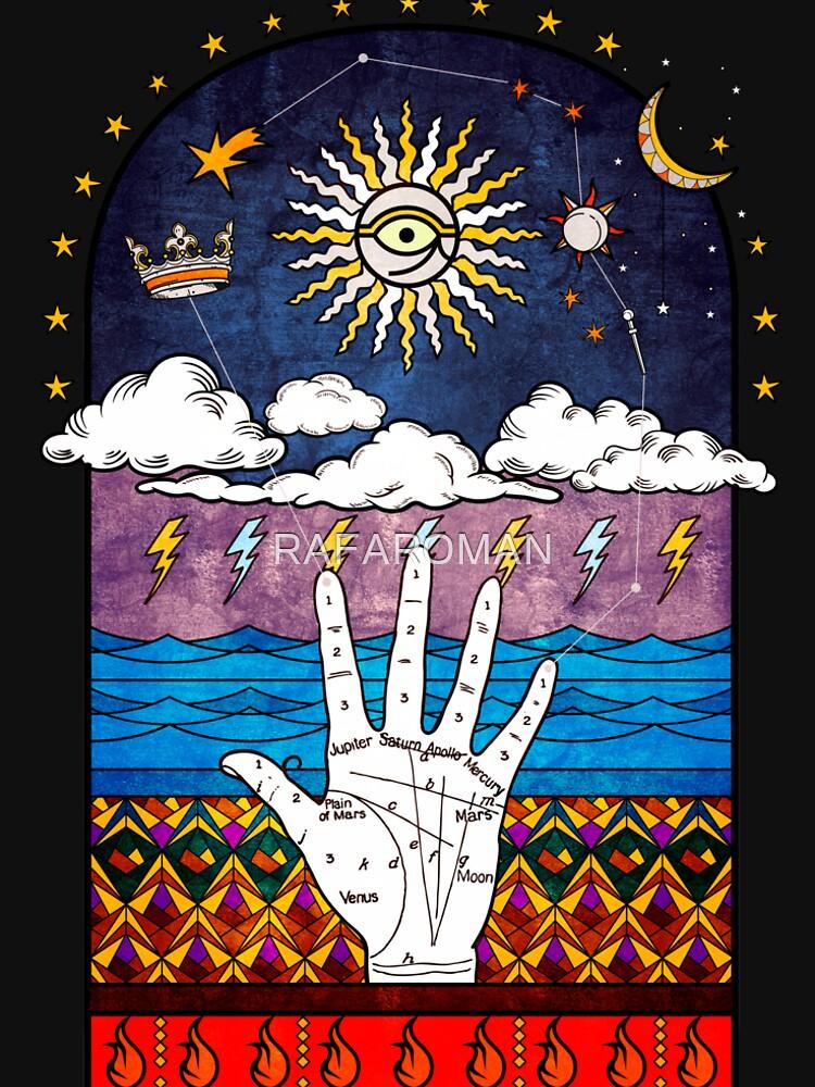 Sacred Geometry Esoteric Prayer by RAFAROMAN