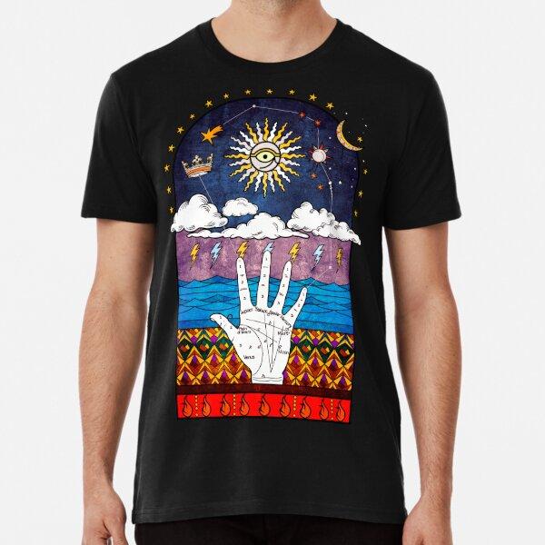 Sacred Geometry Esoteric Prayer Premium T-Shirt