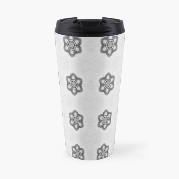 Pattern, design, tracery, weave, #Pattern, #design, #tracery, #weave Travel Mug