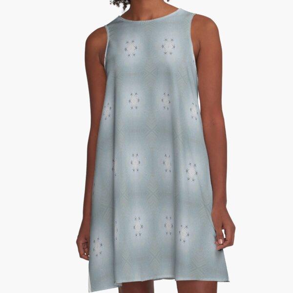 Pattern, design, tracery, weave, #Pattern, #design, #tracery, #weave A-Line Dress