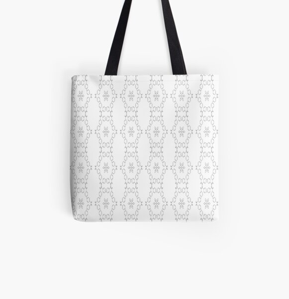 Pattern, design, tracery, weave, #Pattern, #design, #tracery, #weave All Over Print Tote Bag