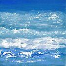Blue Waves by Kathie Nichols