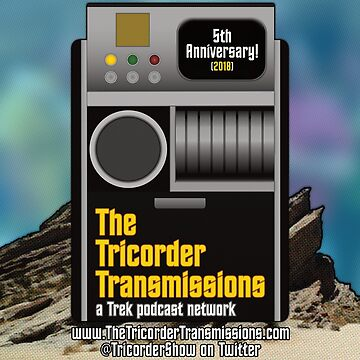 The Tricorder Transmissions 5th Anniversary Logo by ttt-pod