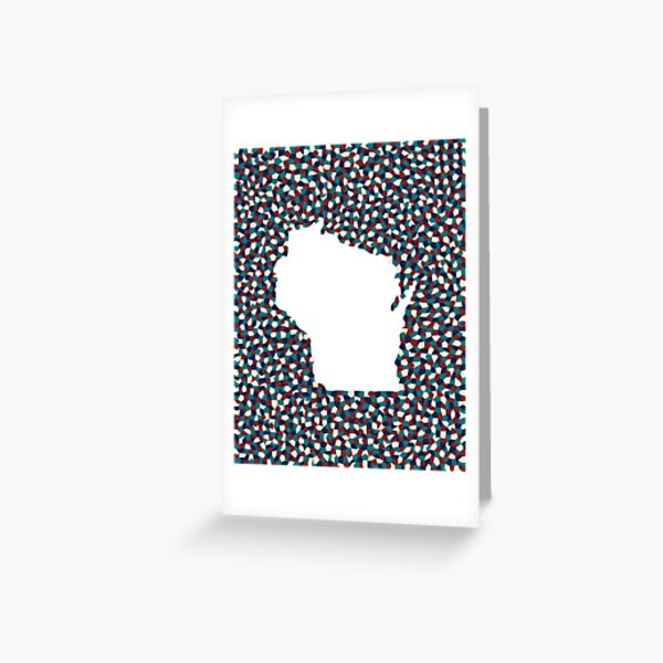 Wisco: Nautical Colors Greeting Card