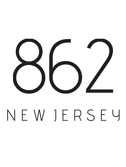 NEW JERSEY 862 • BLACK by kassander