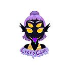 Creep Goals Shadow Monster Girl by chickyoudontkno