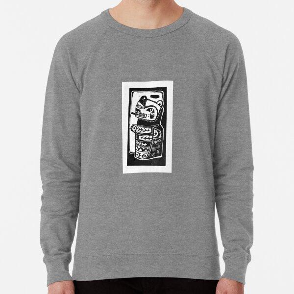HON the Kachina Bear linocut Lightweight Sweatshirt