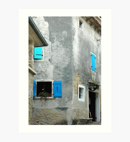 "City Life - ""Bruno's Gallery"" Art Print"