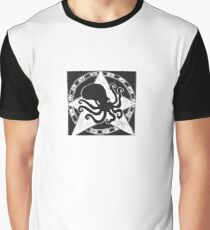 Cephalopod God (Crafty Hag Logo) Graphic T-Shirt