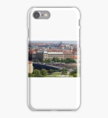 Prague Panorama cityscape iPhone Case/Skin