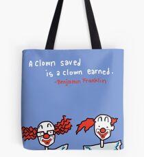 A Clown Saved Tote Bag