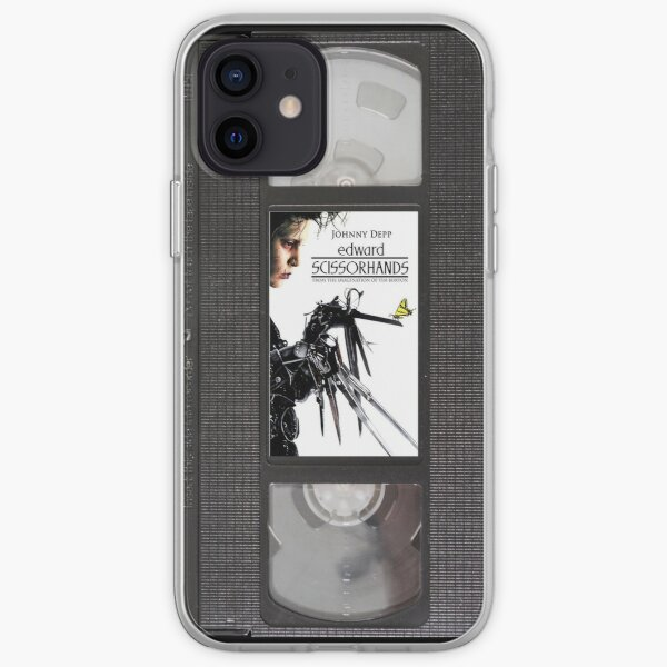 Edward Scissorhands VHS iPhone Soft Case
