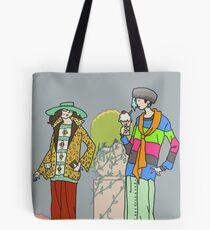 Art Deco Sneer Campaign Tote Bag