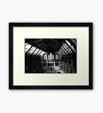 Making History Framed Print