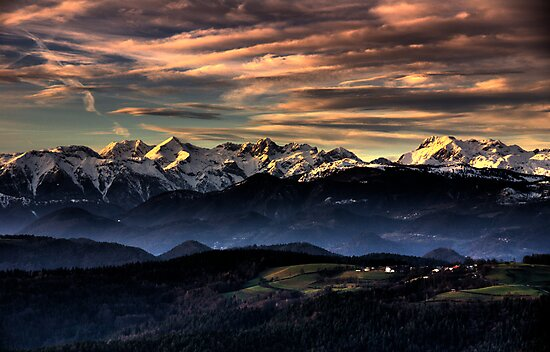 View from Limbarska gora by Knedl