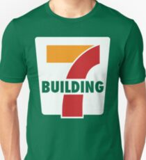 Building 7 Subversive '7 Eleven' Logo - Smoking Gun of 9/11 Unisex T-Shirt