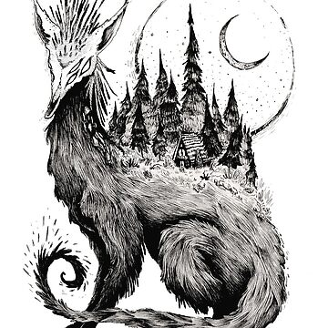 Forest Creature by melancholymoon