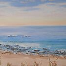 Nambucca Heads, East coast, N.S.W. Oil Painting. by Rita Blom