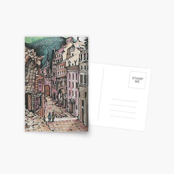 LOVE AMONG THE RUINS  Postcard