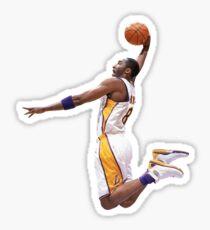 Kobe Bryant dunk Sticker