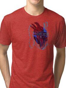 'Pocket Heart' Tri-blend T-Shirt