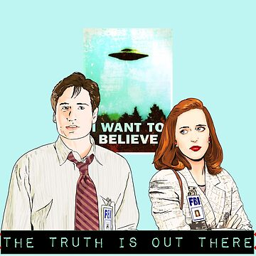 X files the truth is out there I want to believe by Mimie ( more 70 designs XFiles in my shop) by MimieTrouvetou