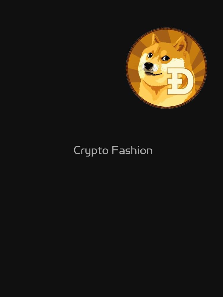 Dogecoin Logo by Crypto-Fashion