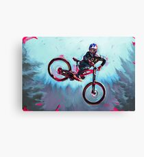 Finn Iles at the Crankworx Whip off Canvas Print