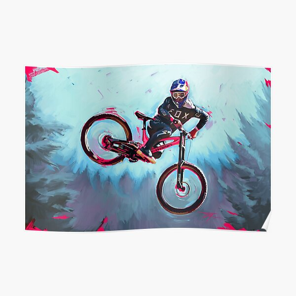 Finn Iles at the Crankworx Whip off Poster