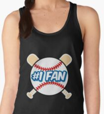 Baseball Number 1 Fan Women's Tank Top