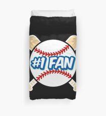 Baseball Number 1 Fan Duvet Cover