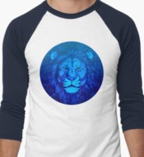 Blue Lion Bubble portrait by Cheerful Madness!! T-Shirt