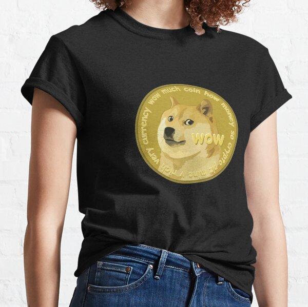 Dogecoin Meme Logo Classic T-Shirt