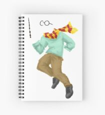 Invisible Boy Spiral Notebook