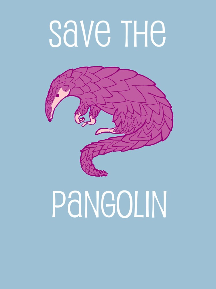 Save the Pangolin by miniverdesigns