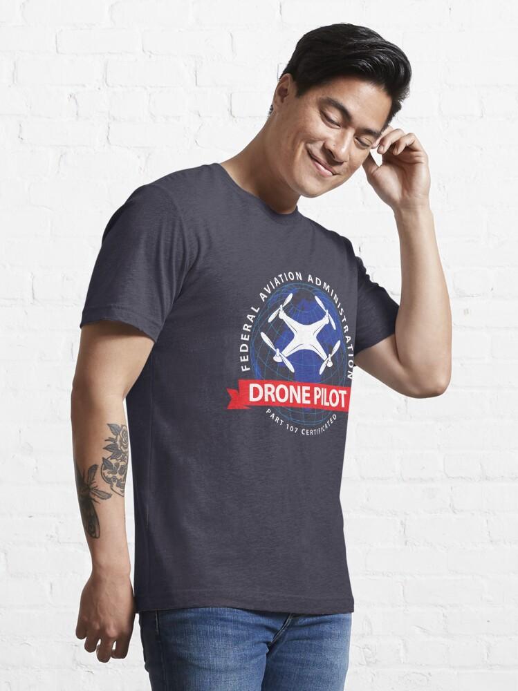 Alternative Ansicht von Certified Drone Pilot - Funny Aviation Quotes Gift Essential T-Shirt