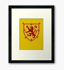 Royal Standard of Scotland Framed Print