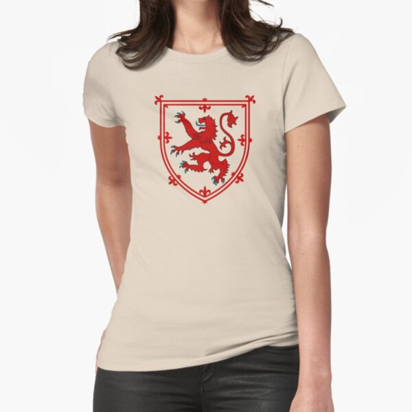 Royal Standard of Scotland Fitted T-Shirt