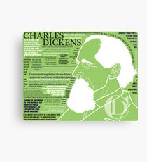 Charles Dickens' Quotes Canvas Print