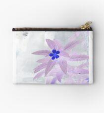 Purple Blooms Studio Pouch