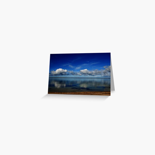 Lines on the Horizon Greeting Card