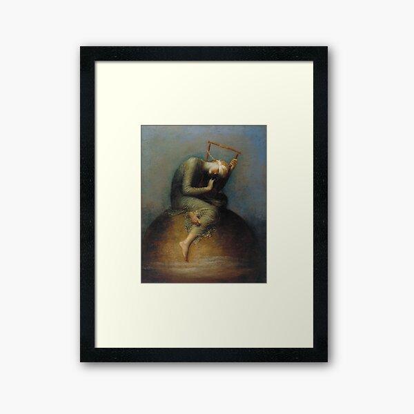 George Frederic Watts - Hope  Framed Art Print