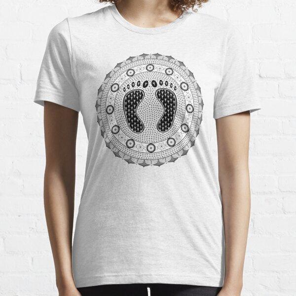 Feet Mandala Essential T-Shirt