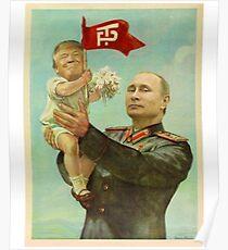 Baby Donald Trump & Daddy Vladimir Putin Poster