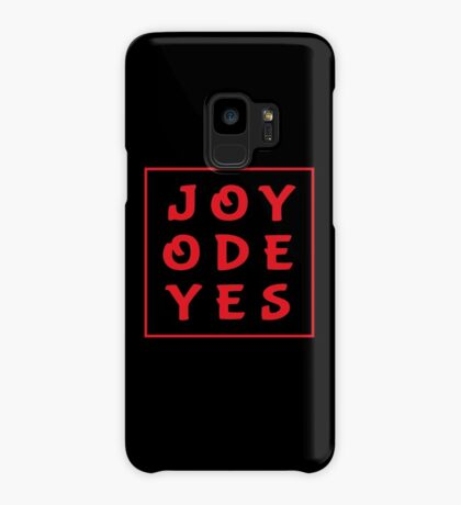 Joy Ode Yes – Red Case/Skin for Samsung Galaxy