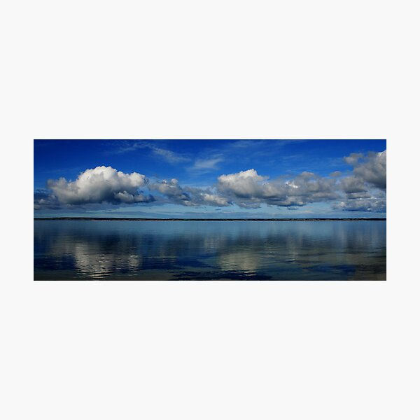 Lines across the Horizon Photographic Print