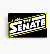 I am the Senate Canvas Print
