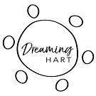 Dreaming Hart logo in black by DreamingHart