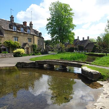 The Bridge at Lower Slaughter by trish725