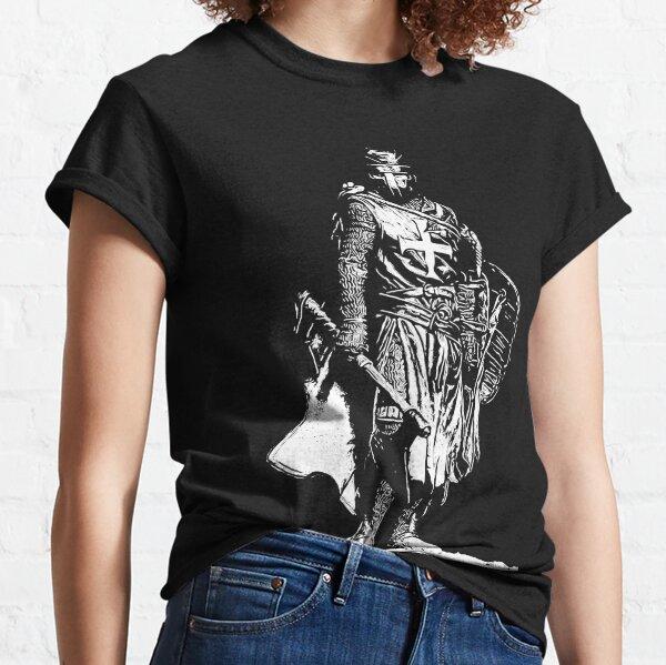 Crusader Warrior  Classic T-Shirt